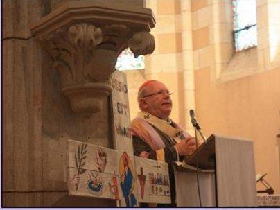 Visite pastorale de notre évêque. Le Porge