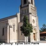 église Saint Pierre de Lège (bourg) . Paroisse de Lège