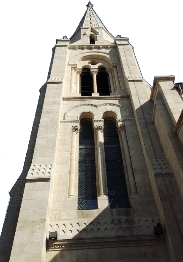 église Saint Vincent de Paul - Arès