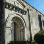 église Saint Amand - paroisse de Saumos; Secteur Pastoral Lège-Arès