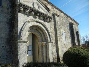 Diaporama sur l'église St-Amand de Saumos