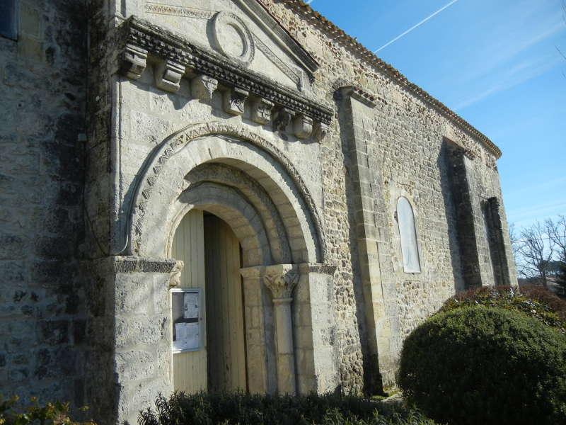 église St-Amand, Saumos. Diaporama