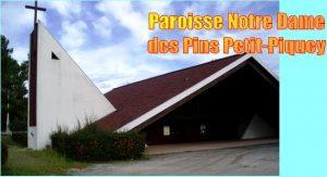 Notre Dame des Pins à Piquey. Diaporama