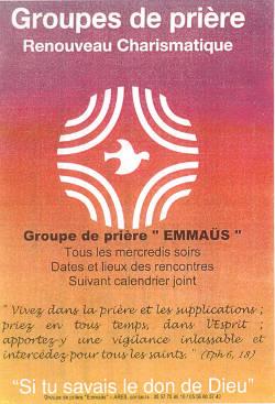 Groupe de prière EMMAÜS