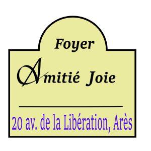 Logo Foyer Amitié Joie, Arès
