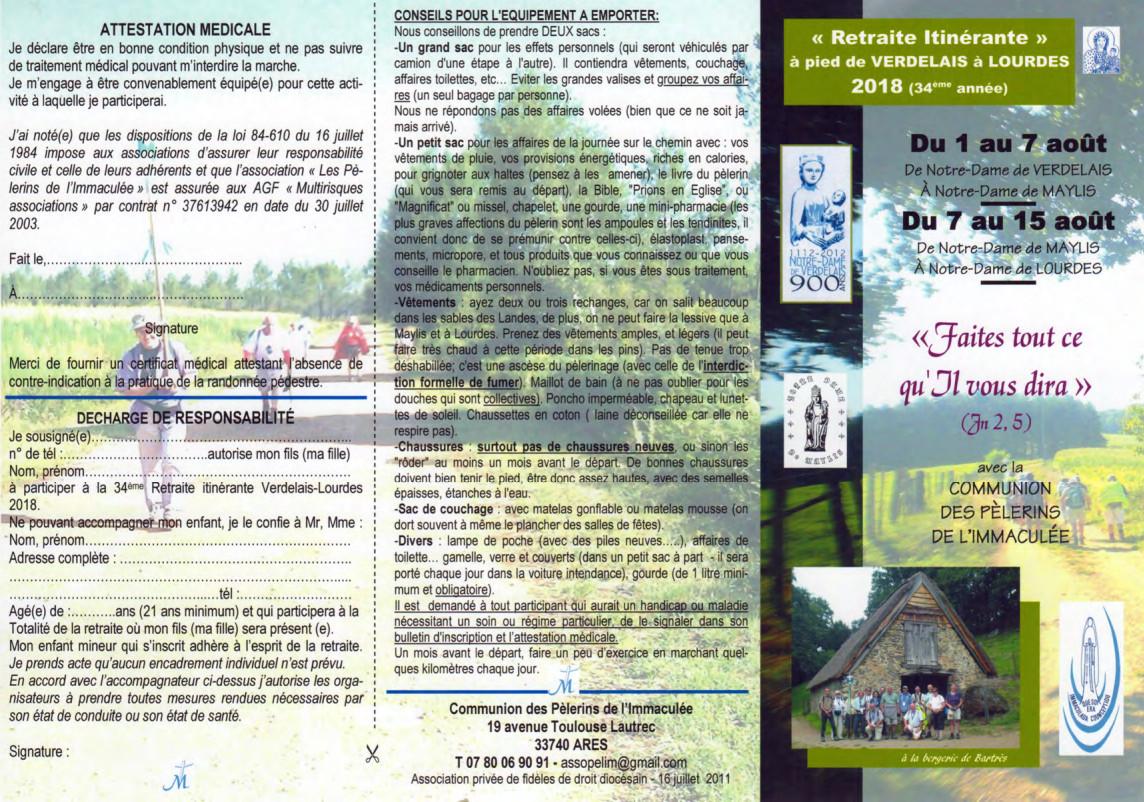 Pèlerinage Compostelle Labouheyre-Ostabat