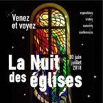 Nuit des églises 2018