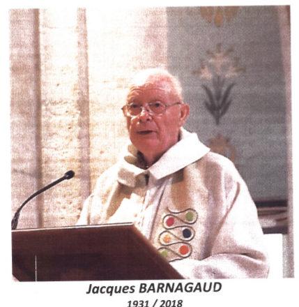 in memoriam : Père Jacques Barnagaud